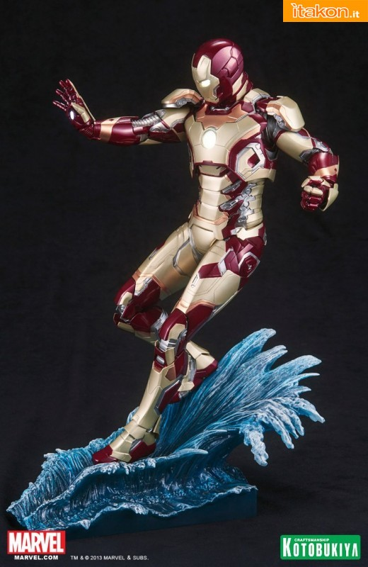 Marvel Iron Man 3 Iron Man Mark 42 ARTFX Statue