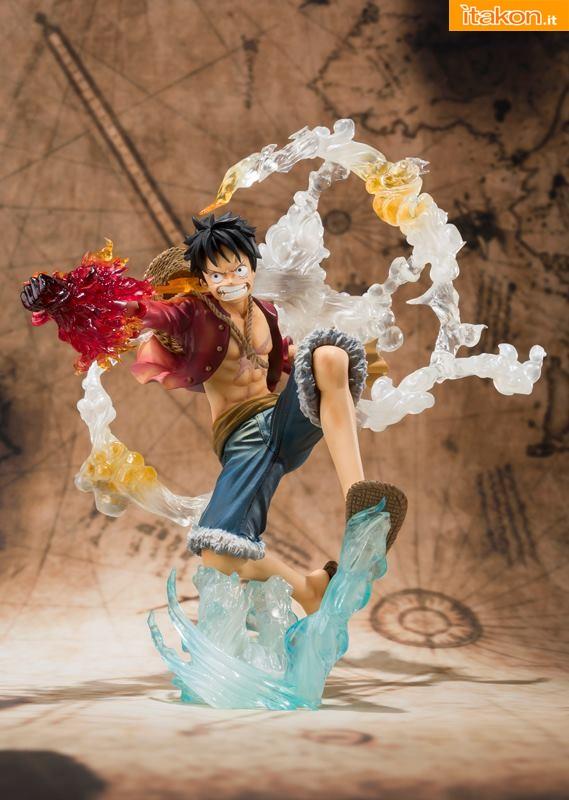 Bandai - One Piece - Luffy - Figuarts Zero