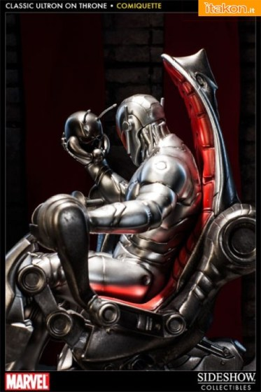 Sideshow Ultron Throne Comiquette (2)