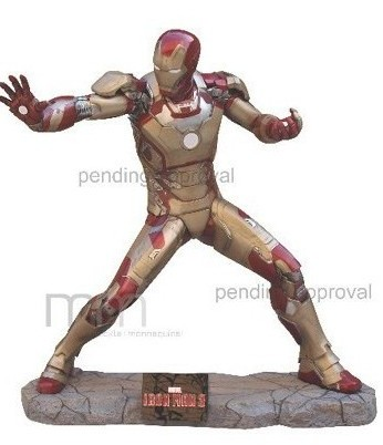 Dalla Muckle Mannequins la statua a grandezza naturale di Iron Man 3 Mark 42