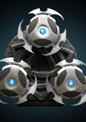 Underworld Selene's Throwing Stars Prop Replica (6)