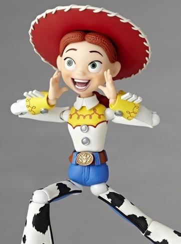 Jessie Tokusatsu Revoltech - Toy Story - Kaiyodo preordine 20