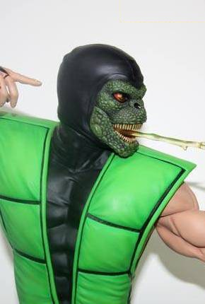 Pop Culture Shock: Ritardi per la statua di Reptile da Ultimate Mortal Kombat 3