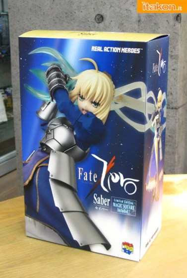 saber - real action heroes - medicom toy - foto ufficiali 1