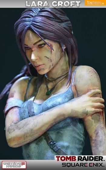 Lara Croft Survivor Statue di Gaming Heads (28)