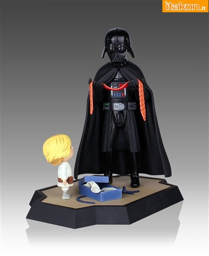 Gentle Giant: Vader's Little Princess and Son Maquettes 02