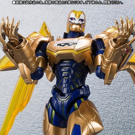 Tiger & Bunny Golden Ryan S.H.Figuarts 1