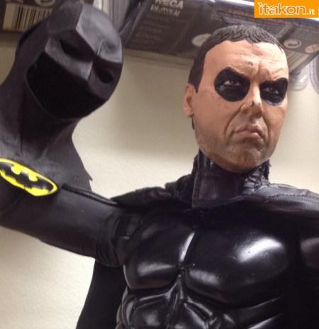 Batman 1989 1/4 Figure - Rivelato lo sculpt di  Michael Keaton.