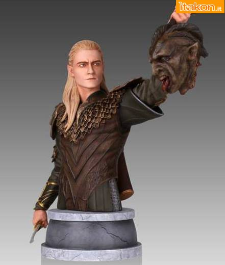 The Hobbit: Legolas Mini Bust 1/6 di Gentle Giant - In Preordine