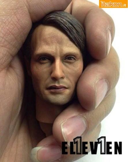 ELEVEN: Mads Mikkelsen 1/6 scale figure da Hanniba