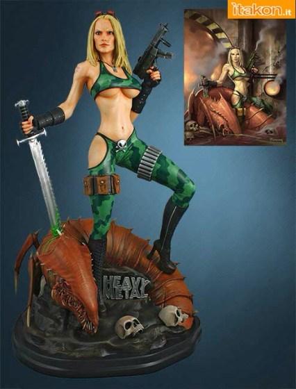 Alien Marine girl 1/4 statue