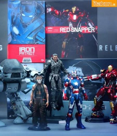 Hot Toys: Confermate le prossime uscite di Iron Patriot, Red Snapper, ED-209, Zod e Tonto