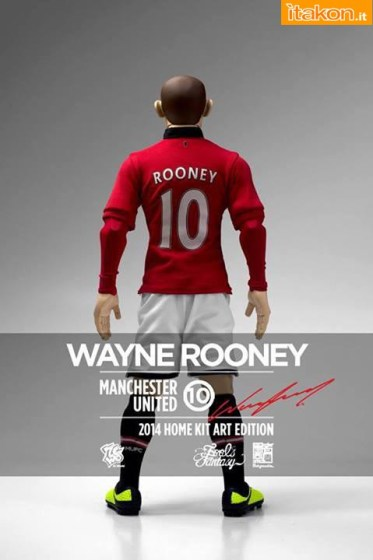 ZCWO: Manchester United 1/6 Scale Home Kit Art Edition figure - Anteprima