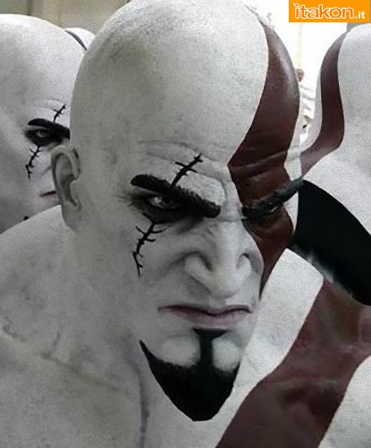 Gaming Heads: Kratos Life Size Bust da God Of War