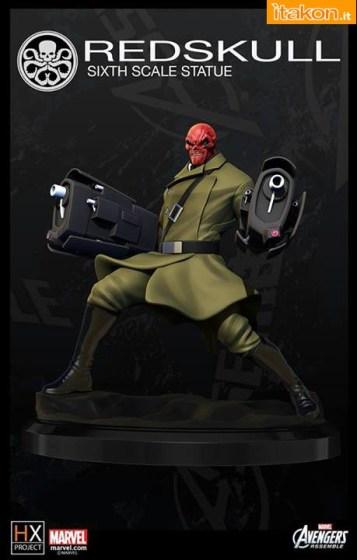 XM Studios:  Loki, Thor e Red Skull 1/6 Avenger Assemble Statue - Prime Immagini a Colori