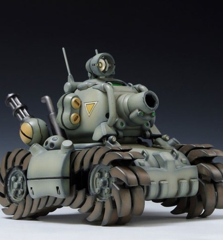 SV-001 I Metal Slug Plastic Model 3