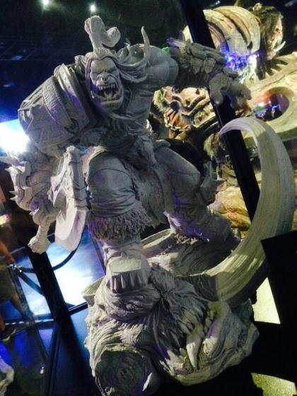 Blizzard: Grommash Hellscream statue - Prime immagini del prototipo