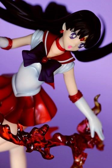 Sailor Mars Figuarts ZERO Bandai - recensione 35