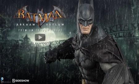 Sideshow: Batman Arkham Asylum Premium Format - Video e annuncio preordini