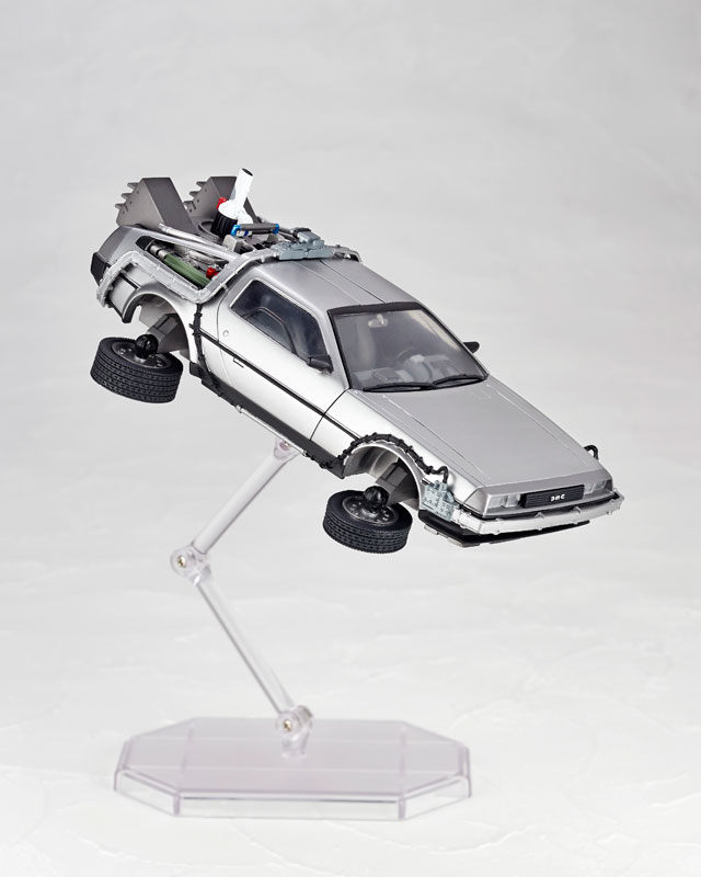 DeLorean Movie REVO - Back to the Future - Kaiyodo preorder 08
