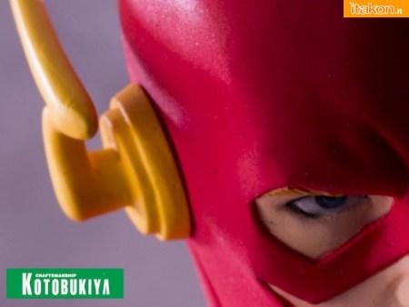 The Flash ARTFX Kotobukiya teaser