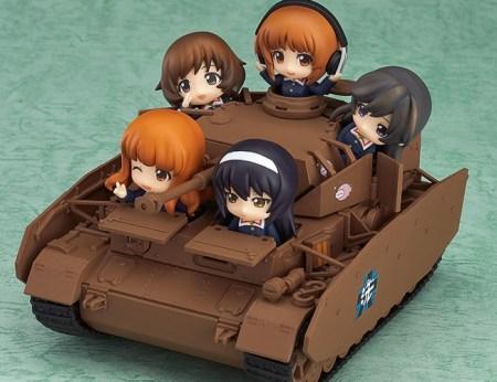 Panzer IV Ausf D H Spec Ankou Team Nendoroid Petit More GSC official info 20