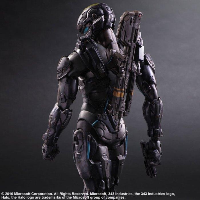 Halo 5 Guardians Spartan Locke - Play Arts Kai Square Enix pre 02