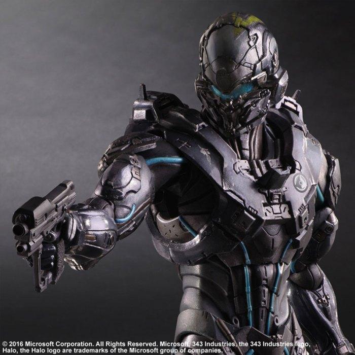 Halo 5 Guardians Spartan Locke - Play Arts Kai Square Enix pre 07