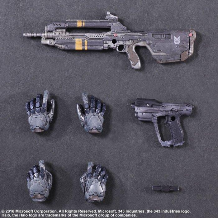 Halo 5 Guardians Spartan Locke - Play Arts Kai Square Enix pre 08