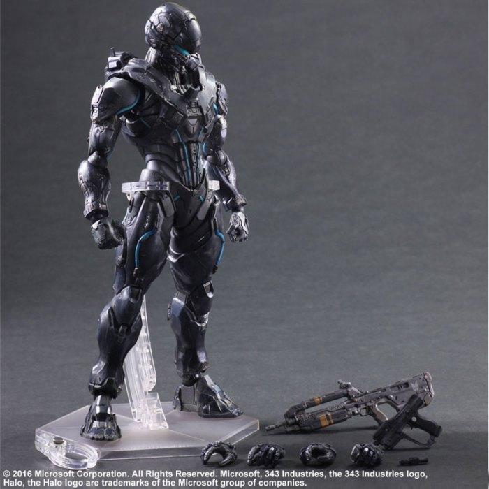 Halo 5 Guardians Spartan Locke - Play Arts Kai Square Enix pre 10