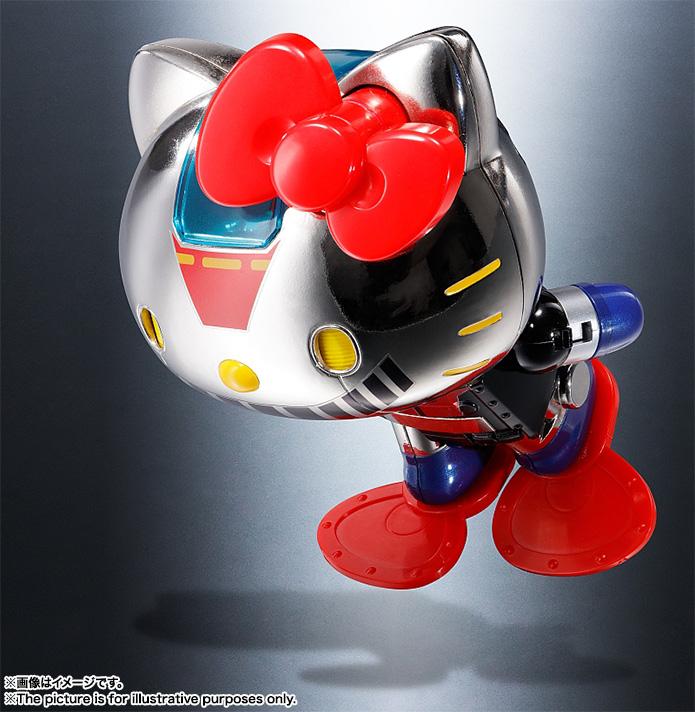 Hello Kitty Mazinger Z Chogokin Bandai pre 04