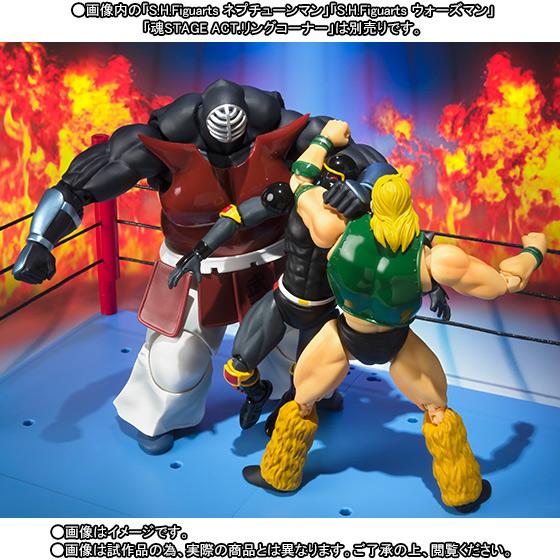 Kinnikuman Big the Budo S.H.Figuarts Bandai Itakon.it -0005