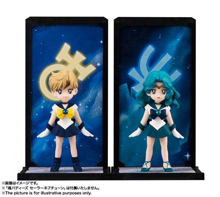 Sailor Uranus e Sailor Neptune (vendute separatamente)