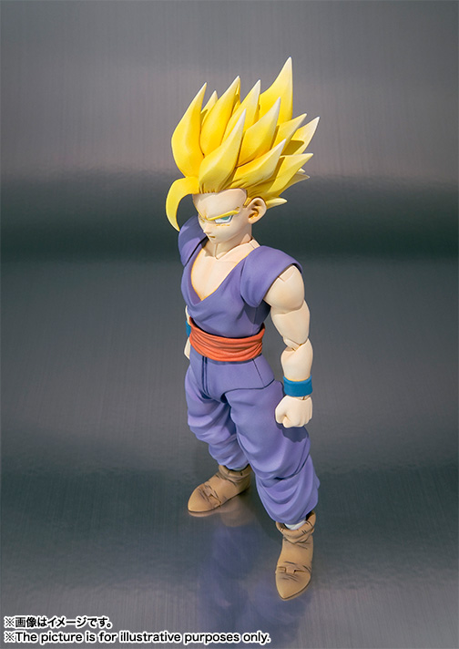 Son Gohan SH Figuarts - Dragon Ball - Bandai rerelease 01