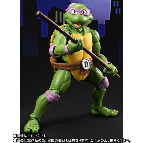 Donatello SH Figuarts - TMNT - Bandai pre 01