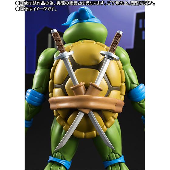 Leonardo SH Figuarts - TMNT - Bandai pre 05