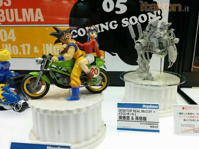 "Goku & Chi-Chi linea Desktop Real McCoy  da ""Dragon Ball Z"""