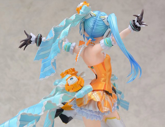 Miku Hatsune Orange Blossom - Vocaloid  - Max Factory proto 20