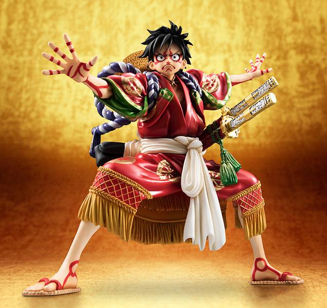 Monkey D Luffy Kabuki POP - One Piece MegaHouse pre 04