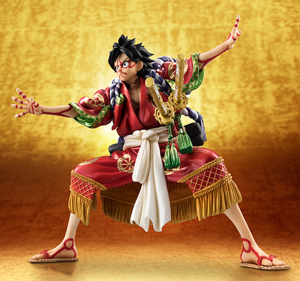 Monkey D Luffy Kabuki POP - One Piece MegaHouse pre 10
