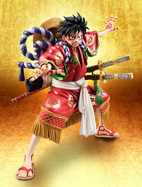 Monkey D Luffy Kabuki POP - One Piece MegaHouse pre 11