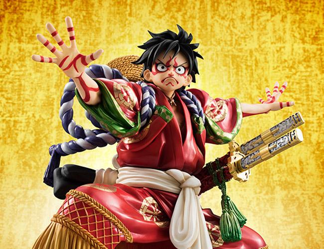 Monkey D Luffy Kabuki POP - One Piece MegaHouse pre 20