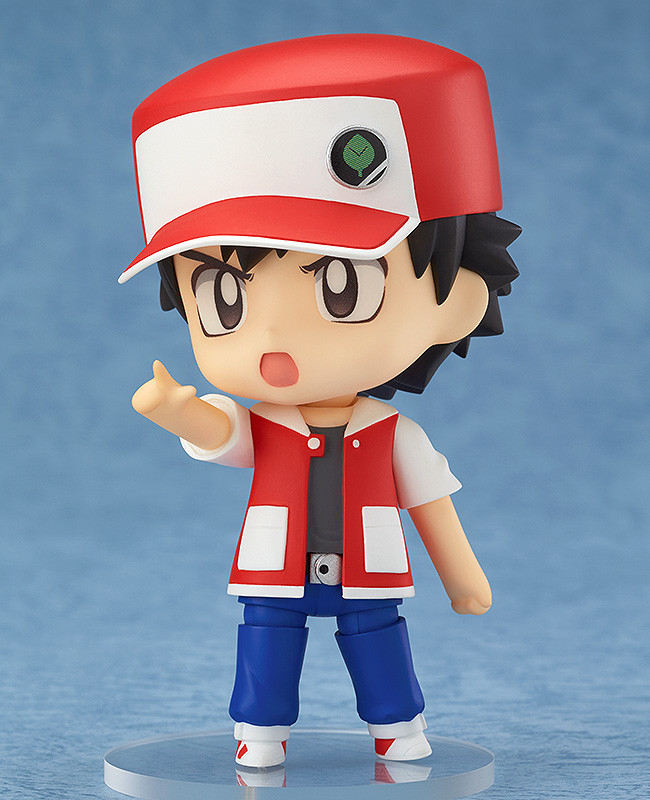 Nendoroid Pokémon Trainer Red & Green GSC pre 02