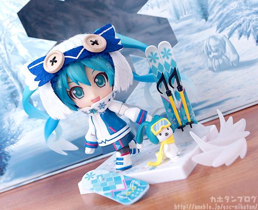 Snow Miku Snow Owl Nendoroid Figma GSC gallery 11