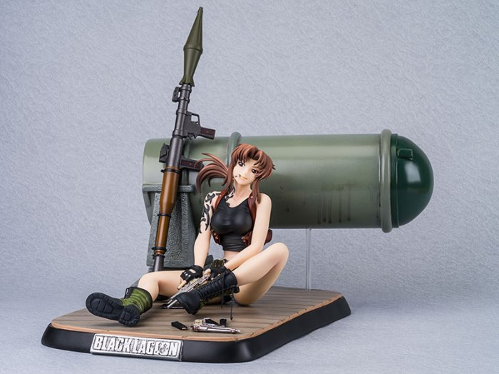 Revy DX Edition - Black Lagoon - New Line preorder 03