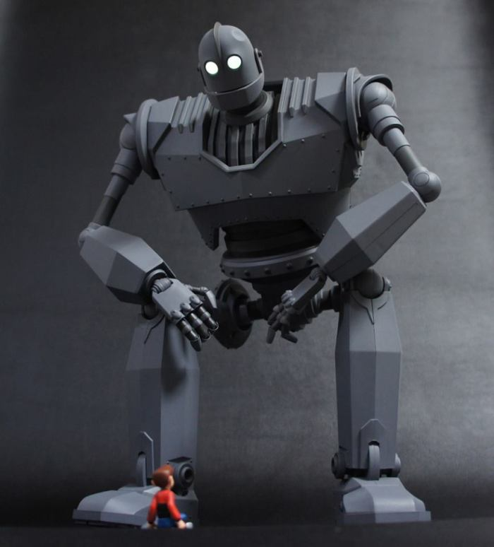 The IRON GIANT Mondo pics 09