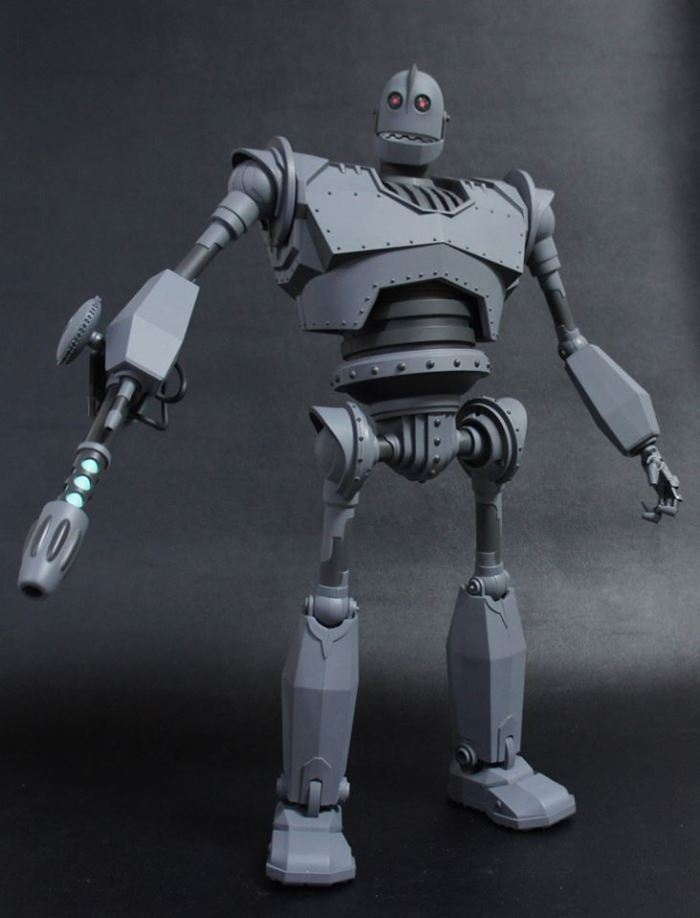 The IRON GIANT Mondo pics 21