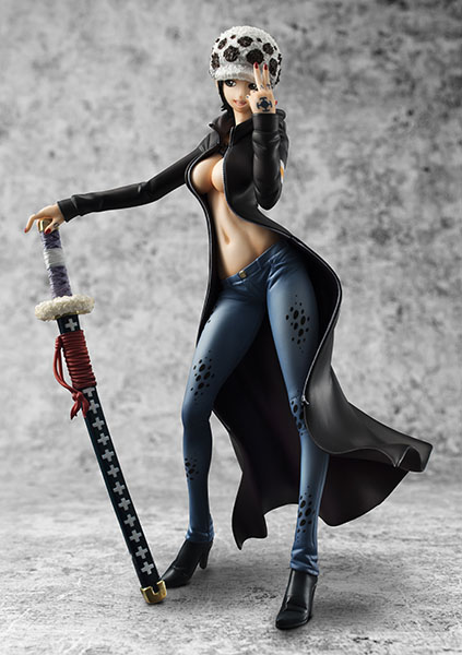 Trafalgar Law POP - One Piece - MegaHouse info pre 05