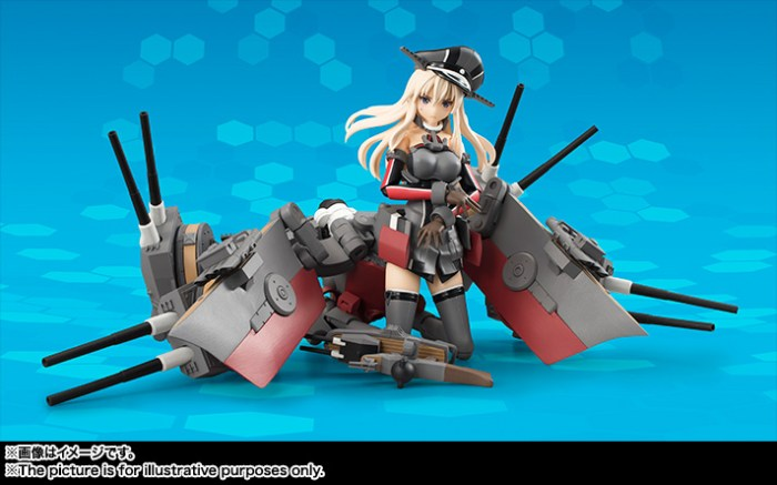 Bismarck AGP - Kantai Collection - Bandai info pre 03