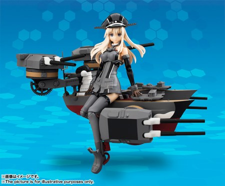Bismarck AGP - Kantai Collection - Bandai info pre 04